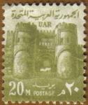 Sellos de Africa - Egipto -  PUERTA EL FETOUH- EL CAIRO