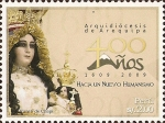 Stamps America - Peru -  400 Años de la Arquediócesis de Arequipa, 1609-2009. Virgen de Chapi.
