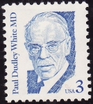 Stamps United States -  Paul Dudley White
