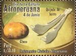Stamps America - Peru -  Día de la Cultura Afroperuana (4 jun). Instrumentos Musicales Afroperuanos.