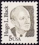 Stamps United States -  Hugo L. Black