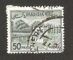 Stamps : Asia : Pakistan :  jardines de shalimar en lahore