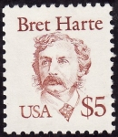 Sellos de America - Estados Unidos -  Bret Harte