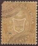 Sellos de America - Guatemala -  Escudo de Guatemala