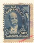 Stamps America - Guatemala -  Manuel Estrada Cabrera