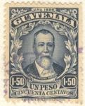 Stamps : America : Guatemala :  Justo Rufino Barrios