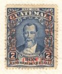 Stamps America - Guatemala -  Justo Rufino Barrios