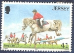 Stamps Europe - Jersey -  Pony Club