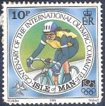 Stamps Europe - Isle of Man -  Centenario Comité Olímpico Internacional