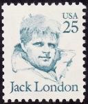 Stamps United States -  Jack London