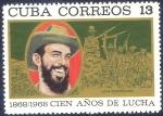 Sellos del Mundo : America : Cuba : 1868/1968 Cien años de lucha