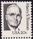 Stamps United States -  Harry S. Truman