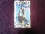 Stamps : America : Colombia :  Universidad de Antioquia.Facultad de Derecho