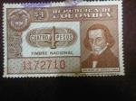 Stamps : America : Colombia :  Timbre Nacional - José María del Castillo y Rada.