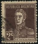 Sellos de America - Argentina -  Libertador General San Martín.