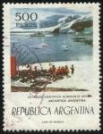 Stamps Argentina -  Estación Científica Almirante Brown en la Antártida Argentina.