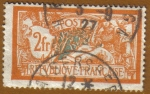Stamps France -  Paz y Libertad