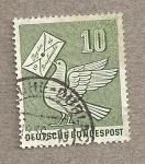 Stamps Germany -  Día del sello 1956