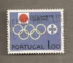 Stamps Portugal -  Juegos Olímpicos Tokio