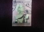 Sellos de America - Colombia -  Derechos -Políticos-De-La-Mujer-