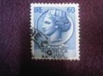 Stamps : Europe : Italy :  Antigua Moneda Siracusana.-Repubblica Italiana