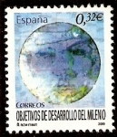 Stamps : Europe : Spain :  Objetivos de desarrollo del milenio