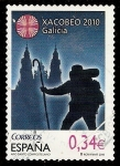 Stamps : Europe : Spain :  Xacobeo 2010