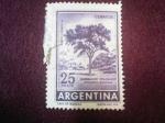 Sellos de America - Argentina -  Quebracho Colorado - red Quebracho