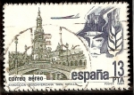 Stamps : Europe : Spain :  Exposición 1929 Plaza de España, Sevilla