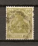 Stamps : Europe : Germany :  Imperio / Deutsches Reich.