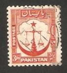 Sellos de Asia - Pakistán -  la justicia