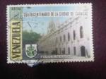 Stamps Venezuela -  Cuatricentenario de la ciudad de Caracas.Palacio de las Academias