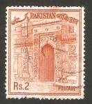 Sellos del Mundo : Asia : Pakistán :  puerta del templo de sona