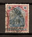 Stamps Europe - Germany -  Imperio / Deutsches Reich.