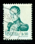 Sellos del Mundo : America : Venezuela : Bolivar