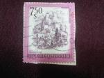 Stamps : America : Austria :  Serie:Zonas de Austria.-SALGBURGO.-República de Austria.