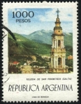Stamps Argentina -  Basílica Menor y Convento de San Francisco. Templo católico y convento de la orden Franciscana. Ciud