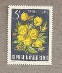 Stamps Austria -  Botón de oro