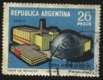 Sellos del Mundo : America : Argentina : Central nuclear de Atucha. Primera de Argentina y América Latina en producción de energía eléctrica.