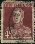 Sellos del Mundo : America : Argentina : Libertador General San Martín.