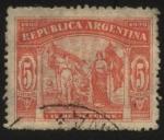 Sellos del Mundo : America : Argentina : Conmemoración del Descubrimiento de América por Cristóbal Colón.