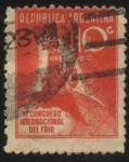 Sellos de America - Argentina -  Conmemorativo del VI Congreso Internacional del Frío.