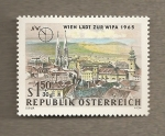 Stamps Austria -  Viena invita a Wipa 1965