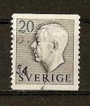 Stamps Sweden -  Gustavo VI / Primera Serie.