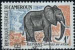 Stamps Cameroon -  Elefante