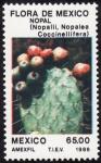 Stamps Mexico -  Flora de Mexico-NOPAL