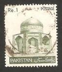 Sellos de Asia - Pakistán -  mausoleo de ibrahim khan makli