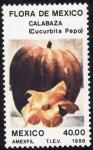 Stamps Mexico -  Flora de México-CALABAZA
