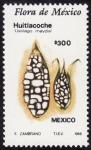 Sellos del Mundo : America : México : Flora de Mexico-HUITLACOCHE