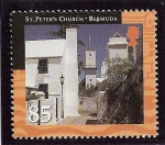 Stamps America - Bermuda -  Ciudad histórica de George y fortificaciones asociadas